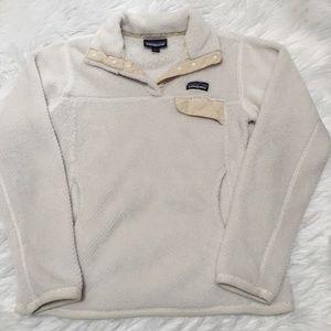 Patagonia Re Tool Snap T Fleece Pullover Cream